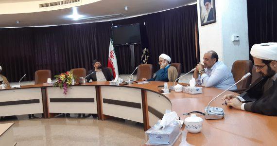 جلسه هیئت مدیره با مدیرکل اداره ارشاد